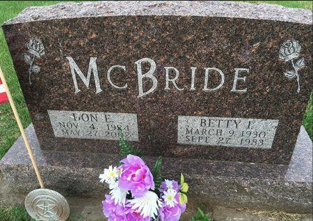 MCBRIDE, BETTY I - Van Buren County, Iowa | BETTY I MCBRIDE