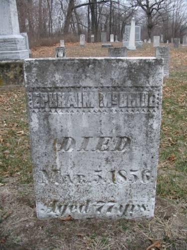 MCBRIDE, EPHRAIM - Van Buren County, Iowa | EPHRAIM MCBRIDE