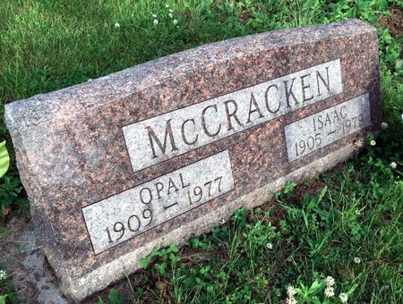 SHOEMAKER MCCRACKEN, OPAL - Van Buren County, Iowa | OPAL SHOEMAKER MCCRACKEN