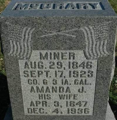 MCCRARY, AMANDA J - Van Buren County, Iowa | AMANDA J MCCRARY