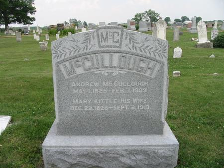 KITTLE MCCULLOUGH, MARY - Van Buren County, Iowa | MARY KITTLE MCCULLOUGH