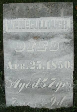 MCCULLOUGH, WM. - Van Buren County, Iowa | WM. MCCULLOUGH