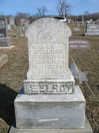 MCELROY, JAMES - Van Buren County, Iowa   JAMES MCELROY