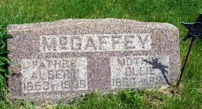 MCGAFFEY, OLIVE VIE - Van Buren County, Iowa | OLIVE VIE MCGAFFEY