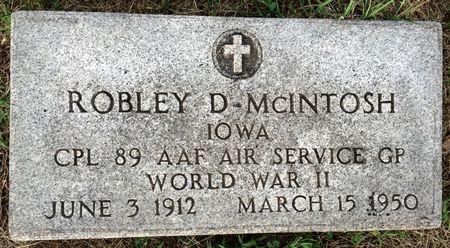 MCINTOSH, ROBLEY D - Van Buren County, Iowa | ROBLEY D MCINTOSH
