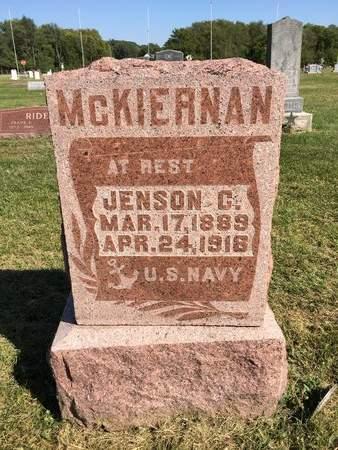 MCKIERNAN, JENSON C - Van Buren County, Iowa | JENSON C MCKIERNAN