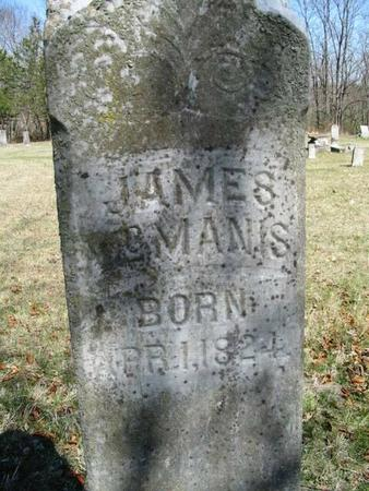 MCMANIS, JAMES - Van Buren County, Iowa | JAMES MCMANIS