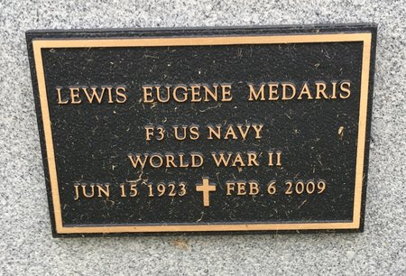 MEDARIS, LEWIS EUGENE - Van Buren County, Iowa   LEWIS EUGENE MEDARIS