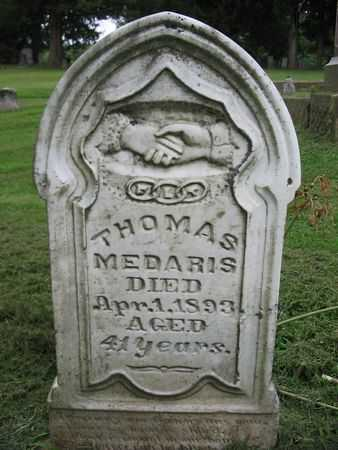 MEDARIS, THOMAS - Van Buren County, Iowa | THOMAS MEDARIS