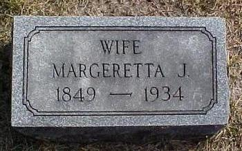 MEGRATH, MARGERETTA JANE - Van Buren County, Iowa | MARGERETTA JANE MEGRATH