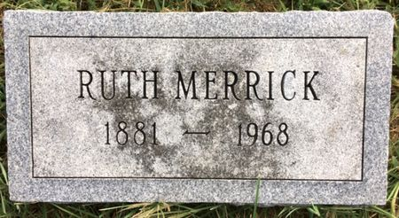 MERRICK, RUTH - Van Buren County, Iowa | RUTH MERRICK