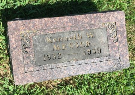 MESSER, KENNETH W. - Van Buren County, Iowa | KENNETH W. MESSER