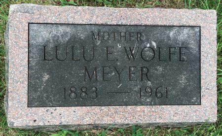 MEYER, LULU E - Van Buren County, Iowa | LULU E MEYER