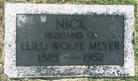 MEYER, NICK - Van Buren County, Iowa | NICK MEYER