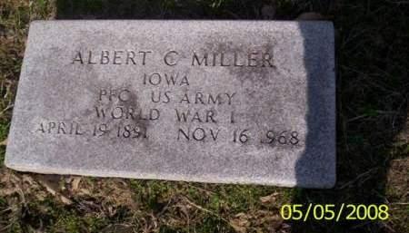 MILLER, ALBERT C. - Van Buren County, Iowa | ALBERT C. MILLER