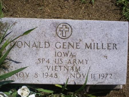 MILLER, DONALD GENE - Van Buren County, Iowa | DONALD GENE MILLER