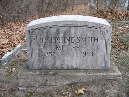 MILLER, JOSEPHINE SMITH - Van Buren County, Iowa | JOSEPHINE SMITH MILLER
