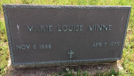MINNE, MARIE LOUISE - Van Buren County, Iowa | MARIE LOUISE MINNE