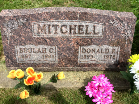 MITCHELL, DONALD R - Van Buren County, Iowa | DONALD R MITCHELL