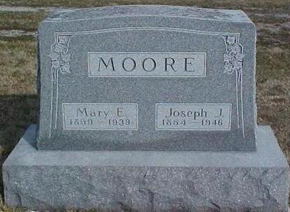 MOORE, MARY ELMINA - Van Buren County, Iowa | MARY ELMINA MOORE