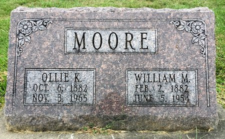 MOORE, WILLIAM M - Van Buren County, Iowa | WILLIAM M MOORE