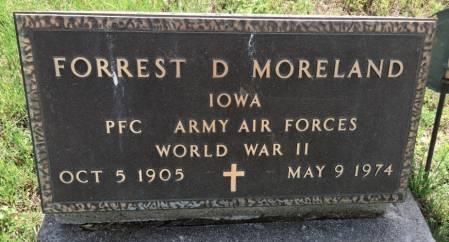 MORELAND, FORREST DALE - Van Buren County, Iowa | FORREST DALE MORELAND