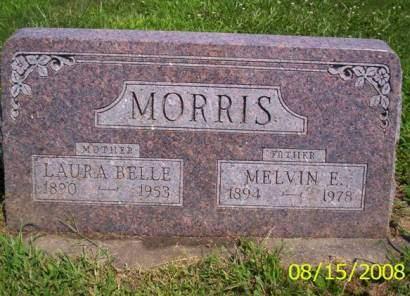 DEVOR MORRIS, CATHERINE LAURA BELLE - Van Buren County, Iowa   CATHERINE LAURA BELLE DEVOR MORRIS