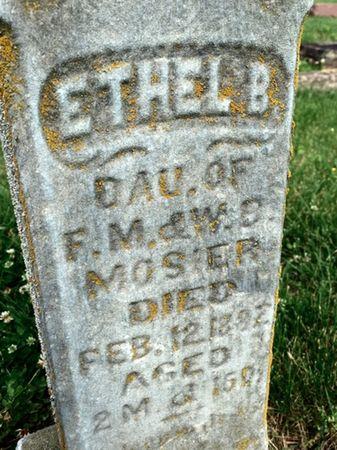 MOSIER, ETHEL B - Van Buren County, Iowa | ETHEL B MOSIER