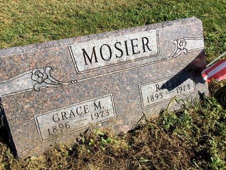 MCCOY MOSIER, GRACE M - Van Buren County, Iowa | GRACE M MCCOY MOSIER