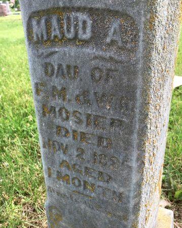 MOSIER, MAUD A - Van Buren County, Iowa | MAUD A MOSIER