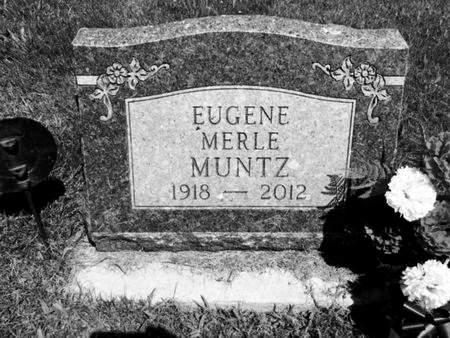 MUNTZ, EUGENE MERLE - Van Buren County, Iowa   EUGENE MERLE MUNTZ