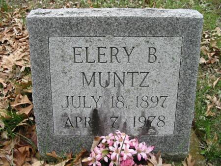 MUNTZ, ELERY B. - Van Buren County, Iowa | ELERY B. MUNTZ