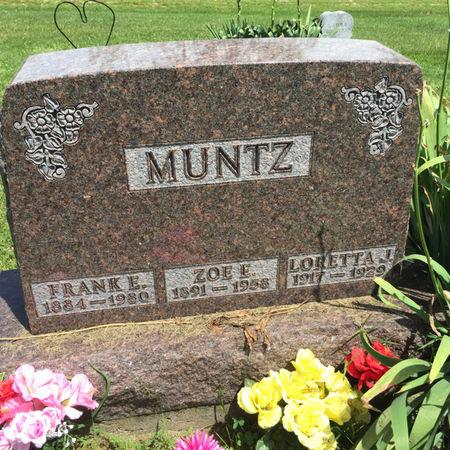 MUNTZ, LORETTA J. - Van Buren County, Iowa | LORETTA J. MUNTZ