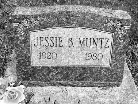 MUNTZ, JESSIE B. - Van Buren County, Iowa | JESSIE B. MUNTZ