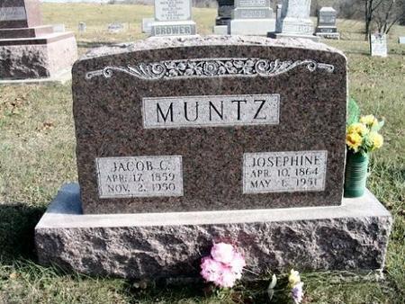 MUNTZ, JOSPEHINE - Van Buren County, Iowa | JOSPEHINE MUNTZ