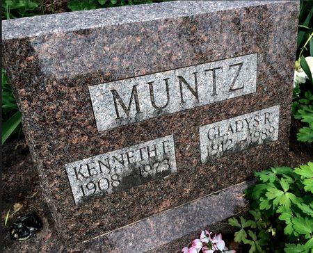 MUNTZ, GLADYS R - Van Buren County, Iowa | GLADYS R MUNTZ