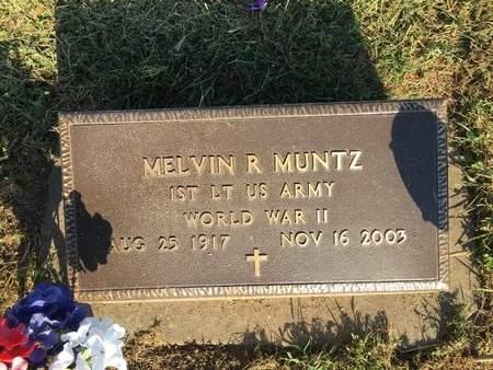 MUNTZ, MELVIN R - Van Buren County, Iowa | MELVIN R MUNTZ