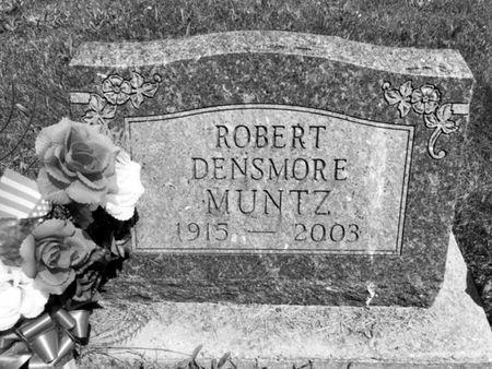 MUNTZ, ROBERT DENSMORE - Van Buren County, Iowa | ROBERT DENSMORE MUNTZ
