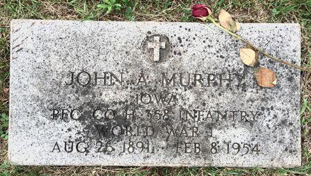MURPHY, JOHN A - Van Buren County, Iowa | JOHN A MURPHY