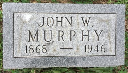 MURPHY, JOHN W - Van Buren County, Iowa | JOHN W MURPHY
