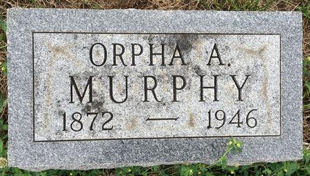 MURPHY, ORPHA A - Van Buren County, Iowa | ORPHA A MURPHY