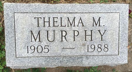 MURPHY, THELMA M - Van Buren County, Iowa | THELMA M MURPHY