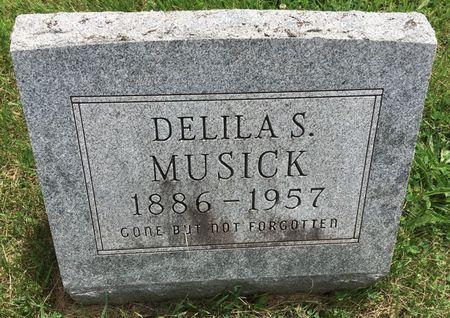 MUSICK, DELILA S - Van Buren County, Iowa | DELILA S MUSICK