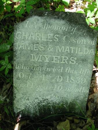 MYERS, CHARLES C. - Van Buren County, Iowa | CHARLES C. MYERS