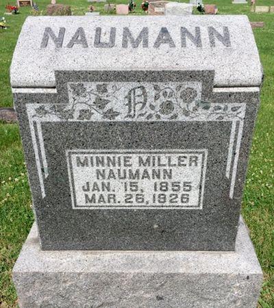 HENTZEL NAUMANN, MINNIE MILLER - Van Buren County, Iowa | MINNIE MILLER HENTZEL NAUMANN