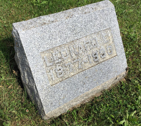 NELSON, LEONARD E. - Van Buren County, Iowa   LEONARD E. NELSON