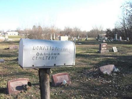 OAK LAWN, CEMETERY - Van Buren County, Iowa | CEMETERY OAK LAWN