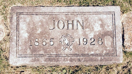 O'DAY, JOHN - Van Buren County, Iowa | JOHN O'DAY