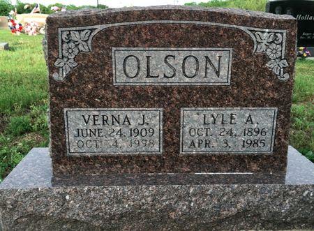 SARGEANT OLSON, VERNA J - Van Buren County, Iowa | VERNA J SARGEANT OLSON