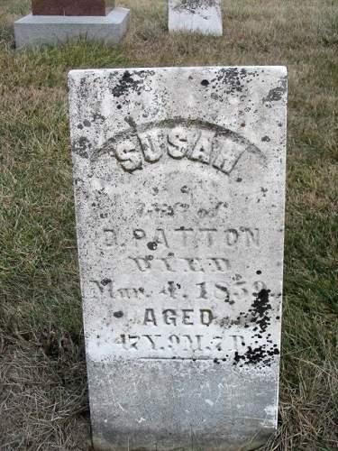 PATTON, SUSAN - Van Buren County, Iowa | SUSAN PATTON